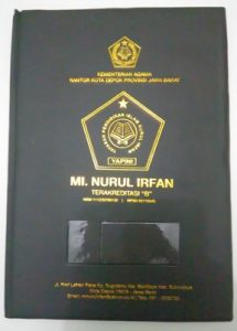 MAP RAPORT MI NURUL IRFAN