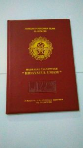 MAP RAPORT HIDAYATUL UMAM